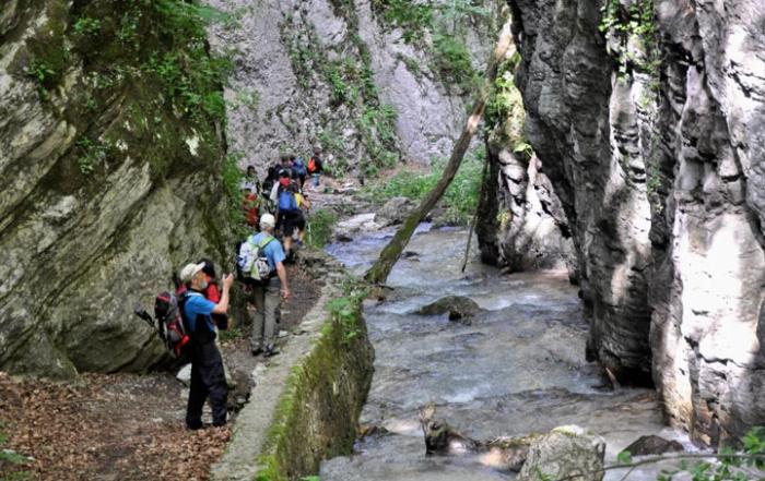 Gola dell'Infernaccio: Escursione e itinerari