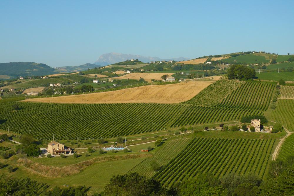 Panoramica Monti Sibillini, Casa degli Elfi e Casa degli Gnomi