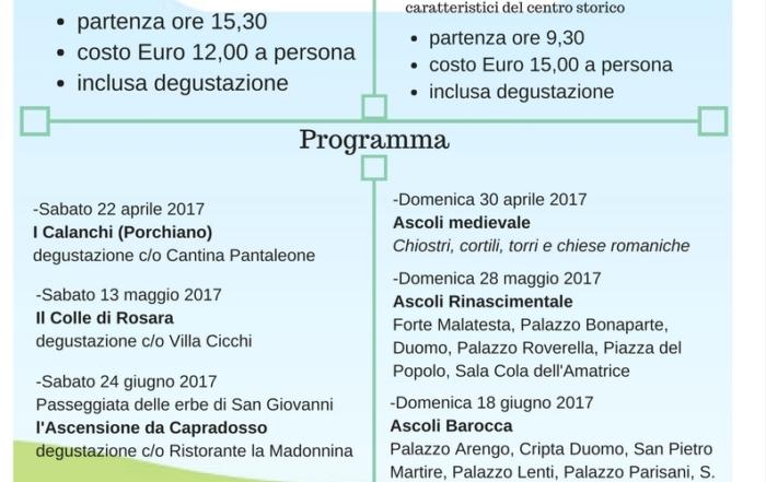 Ascoli Piceno: Visite guidate e degustazioni